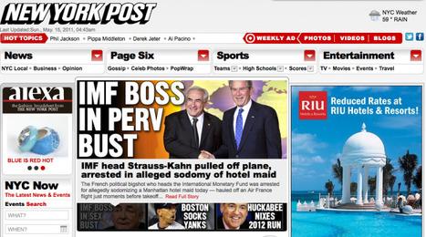 """Les couvertures de la presse américaine sur l'affaire DSK   Revue de presse """"AutreMent""""   Scoop.it"""