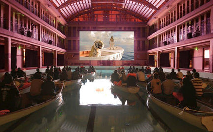 Emerging Theaters: While the market is changing, it doesn't mean the end of movie theatres. By Caitlin Burns | Digital Cinema - Transmedia | Scoop.it