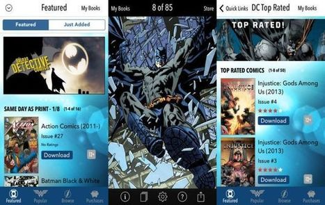 Beyond Comixology: 6 amazing apps for comic book lovers | Be Interactive | Scoop.it