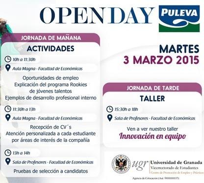 Jornada de presentación de oportunidades de empleo: OpenDay PULEVA | Buscadores de empleo | Scoop.it
