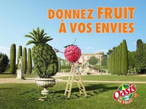 Oasis, les petits fruits ont tout compris | Mémoire publicité : personnages publicitaires | Scoop.it