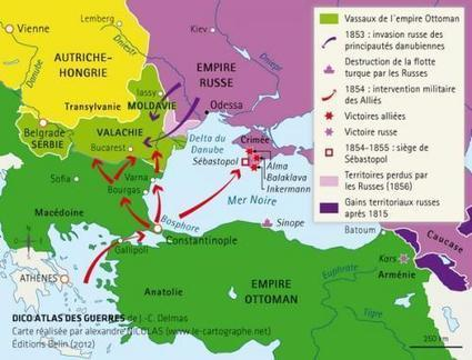 La guerre de Crimée (1853 – 1856) | Histoire pour tous | L'écho d'antan | Scoop.it