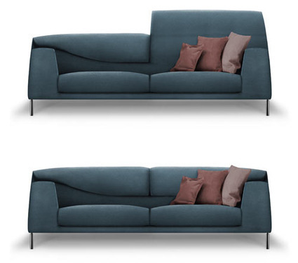 Vita Sofa by Mauro Lipparini for Bonaldo | New Creations | Scoop.it