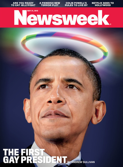 Controversial cover Newsweek, May 12, 2012 | Art, photography, design, tech, culture & fashion | Scoop.it