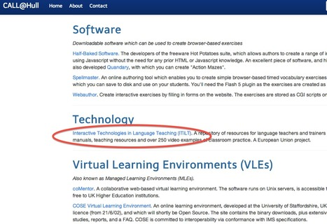 Internet- and Technology-enhanced language learning: iTILT.eu | IWBs & Language Teaching | Scoop.it