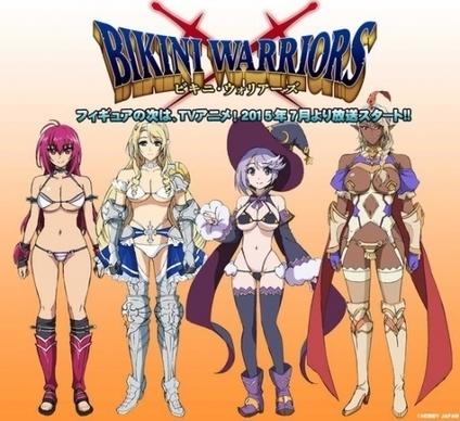 Anunciado el anime de Bikini Warriors | Noticias Anime [es] | Scoop.it