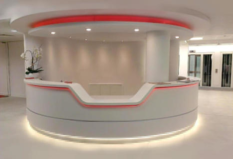 Classy and Modern Reception Area Furniture - Interior Design - wishes and quotes | World Important days and Events | Scoop.it