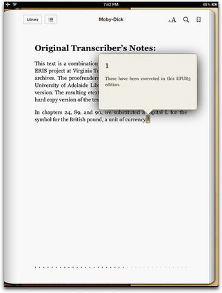 Creating pop-up footnotes in EPUB 3 (and thus in iBooks) | Ebooks and thereabouts | Scoop.it