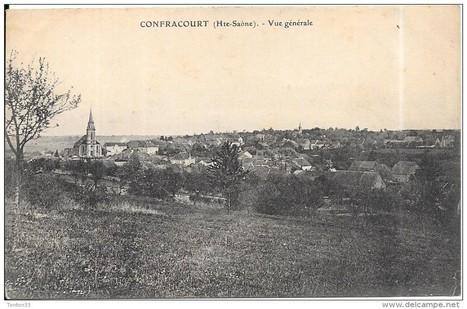 CONFRACOURT - 70 - VUE Générale de la Ville - RARE - ENCH0616 - - Delcampe.net | Confracourt | Scoop.it