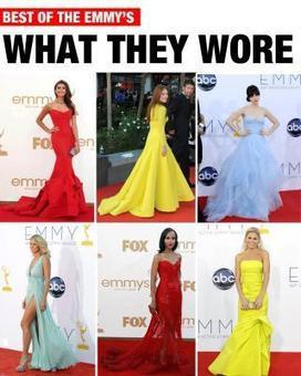 Best of The Emmy's: What They Wore | THE LOS ANGELES FASHION magazine | The Latest Fashion | Scoop.it