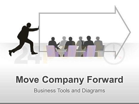 Moving Forward - Visual: Single Slide in PowerPoint | PowerPoint Presentation Tools and Resources | Scoop.it