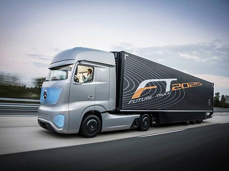 "Mercedes Shows Off Self-Driving ""Future Truck 2025"" | Sheboygan | Scoop.it"