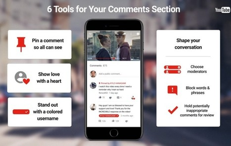 YouTube Rolls out Tools to Clean up the Comment Section | rejdeep7830 | Scoop.it