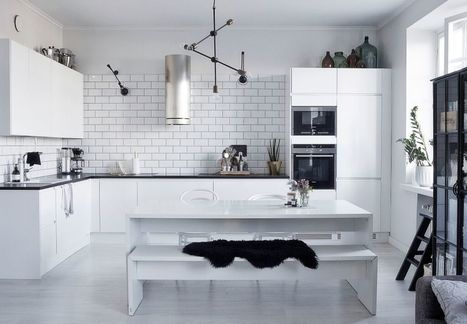 Thiết kế nội thất chung cư mini gam trắng - TDESIGN | ban buon quan ao tre em xuat khau | Scoop.it