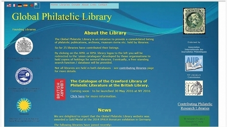 Crawford philatelic library to go online May 30 | Linns.com | Tudo o resto | Scoop.it