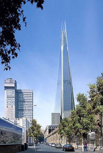 « The Shard », la nouvelle icône du paysage londonien | Office et culture | Métier d'architecte | Scoop.it