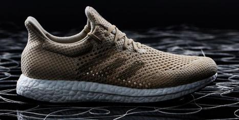 Adidas just created a futuristic shoe made with a super-strong, biodegradable silk   Marine Litter Updates   Scoop.it