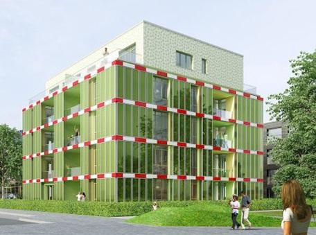 Hamburg Now Has an Algae-Powered Building | Towards Society 3.0 | Scoop.it