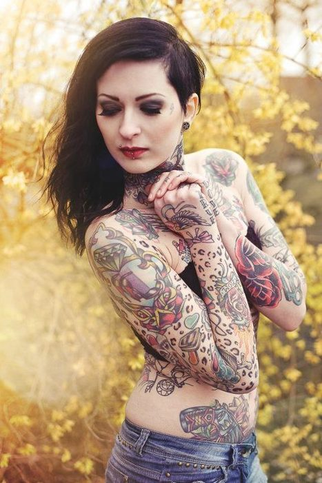 Inked Girls Magazine | Facebook | Ink Inspired | Scoop.it