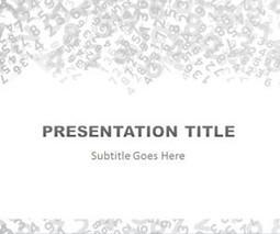 Numbers PowerPoint Template | aaadsfa | Scoop.it