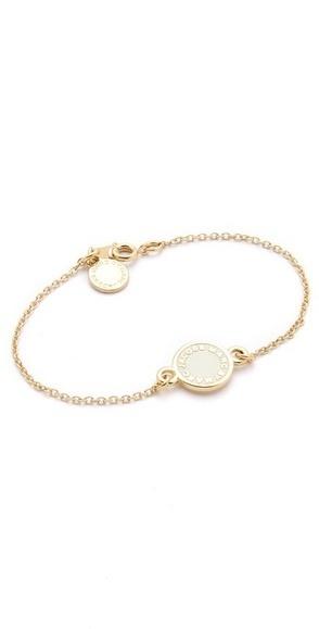 Marc by Marc Jacobs Dreamy Logo Enamel Disk Bracelet | SHOPBOP | women's fashion and beautiful pic | Scoop.it
