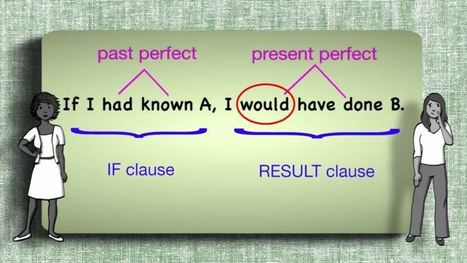 Everyday Grammar: Past Unreal Conditionals | Conditionals | Scoop.it