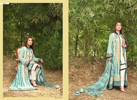 New & Exclusive Summer Wear Lawn Collection By Shariq Textiles With Reeva From 2014 | Women Fashion | Women fashion | Scoop.it