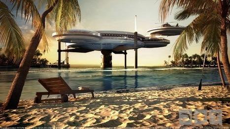 Une perle architecturale bientôt à flot à Dubaï | Civilisation 2.0 | Scoop.it