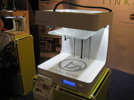Tinkerine Ditto Pro Brings 3D Printing to Schools - Tom's Guide | Machinimania | Scoop.it