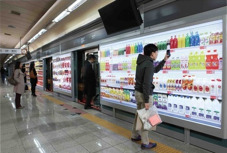 Virtual store enables commuters in Seoul to multitask while waiting | SmartPlanet | Retail | Scoop.it