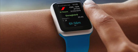 The Air France App already available on Apple Watch! : Air France - Corporate | Médias sociaux et tourisme | Scoop.it