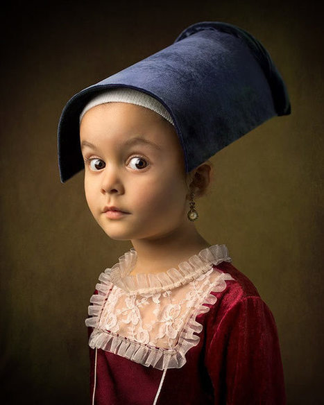 These Aren't Your Average Snapshots: Bill Gekas' Portraits of His Daughter as Classic Paintings | Costume History | Scoop.it
