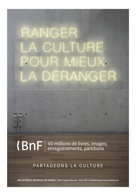 La BNF lance une campagne de communication | En avant la Com... | Scoop.it
