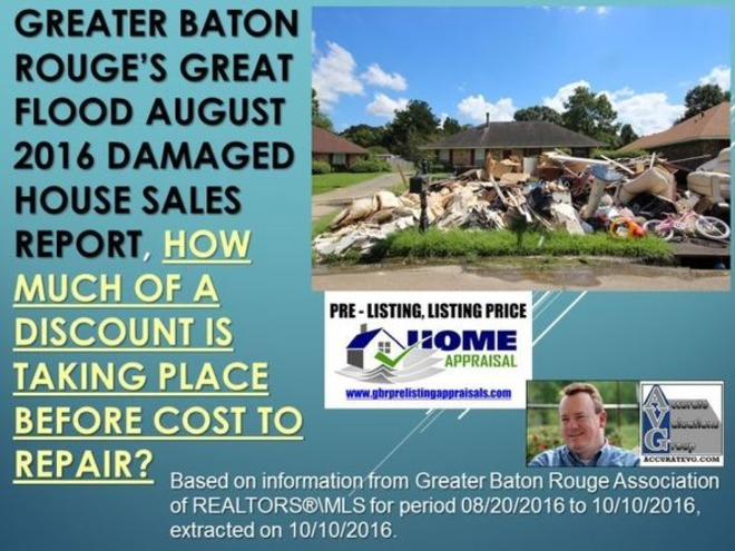 Greater Baton Rouge Flood – 38 Currently Damaged House Sales Study | Baton Rouge Real Estate Housing News | Baton Rouge Real Estate News | Scoop.it
