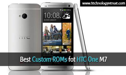 3 Best Custom ROMs for HTC One M7 | Tech | Scoop.it