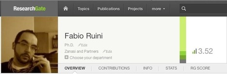 Fabio Ruini's blog » ResearchGate (e Google Sitemap) | LinkedIn, Academia.edu, Research Gate | Scoop.it