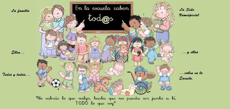 EN LA ESCUELA CABEN TOD@S: INTERVENCIÓN CON ALUMNADO CON ALTAS CAPACIDADES | Altas capacidades | Scoop.it