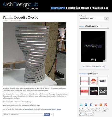 Détail de l'actualité | design ideas | Scoop.it