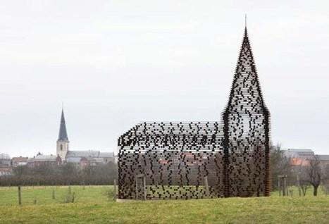 Une église belge exceptionnelle et transparente | Belgitude | Scoop.it