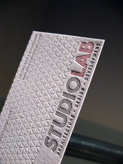 62 Cool Examples Of Big Typography In Business Card Design | Design Inspiration | Rosita Bianco | Scoop.it