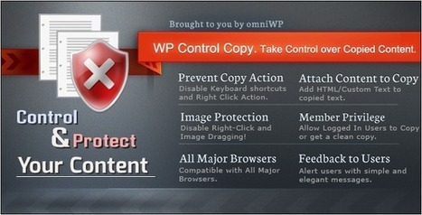 Codecanyon WP Control Copy 2.4 Take Over Copied Content | Download Free Full Scripts | how to hack | Scoop.it