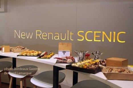 Capdevielle traiteur accompagne le New Renault SCENIC test Drives | Bordeaux Gazette | Scoop.it