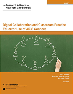 Digital Collaboration and Classroom Practice - Research Alliance for NYC Schools - NYU Steinhardt | eLearning and Blended Learning in Higher Education | Scoop.it