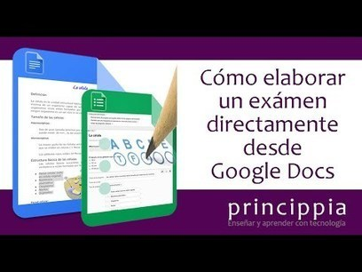 Generar un Formulario de Google desde un documento de texto de Google | Contenidos educativos digitales | Scoop.it