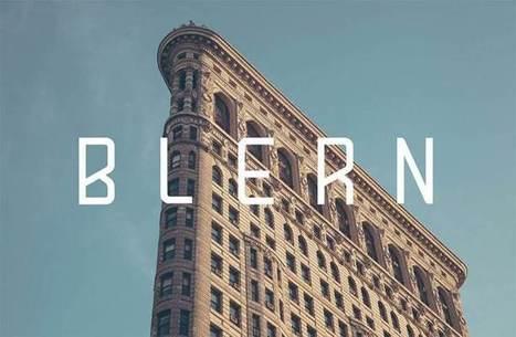 54 typographies gratuites pour Juin 2016 | Actions culturelles interactives | Scoop.it