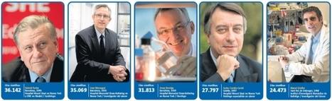 Cinc Catalans entre els 400 millors científics biomèdics del món | ekof | Scoop.it