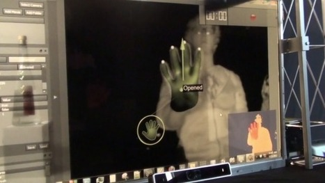 Hand tracking gesture experiment with iisu middleware and #openframeworks   AC-Interactions   Scoop.it