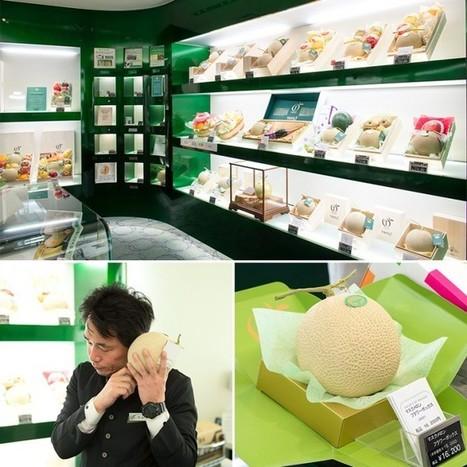 Japanese Muskmelons: A Cut Above the Ordinary | La cuisine japonaise | Scoop.it