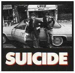 PHOTO: Suicide in front of CBGB | SongsSmiths | Scoop.it