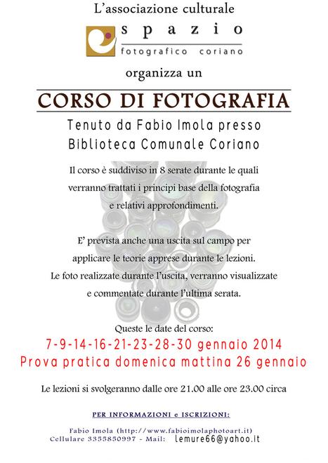 Corso Di Fotografia Spazio Fotografico Coriano | Una Fotografia Diversa | Scoop.it